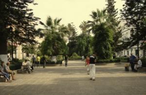 الساحة المركزية لمدينة عنابة