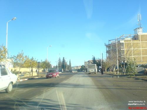Entrée de la ville de Sedrata
