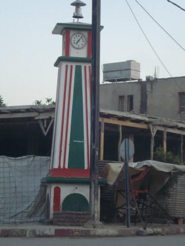 Horloge au centre ville de Ahmed-Rachedi