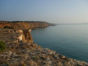 Falaise du Coté Ouest de Terga plage