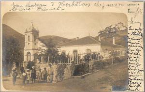 صورة قديمة لكنيسة القرية