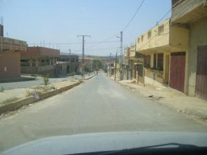 Entrée de la ville de Ouled Meziane