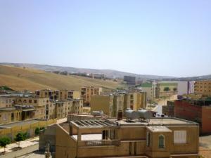 Vue sur la ville de Ouled Meziane