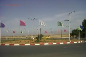 Rond point RN°4 - Vers la Commune d Djidiouia