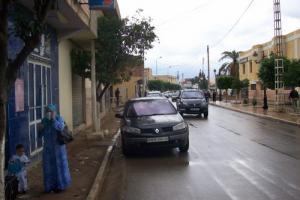 Une allée de Ammi Moussa