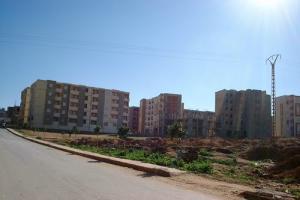 مباني حديثة ببلدية الحمري