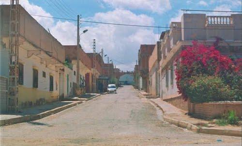 Une rue de la Cité Benaouda