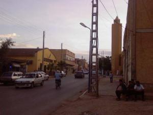 شوارع من وسط مدينة مازونة