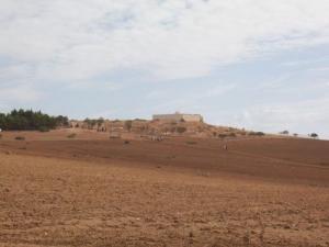 صورة من ضفة قرية أولاد عيش