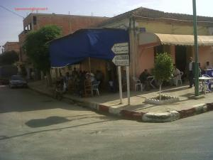 الطريق المؤدي إلى بلدية مازونة