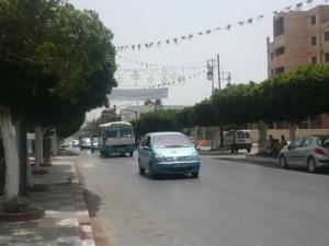 الشارع الرئيسي لمدينة غليزان