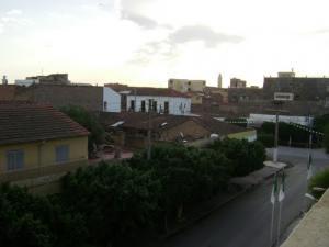 شارع سي زغلول بالضفة الغربية لمدينة غليزان 1