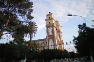 منارة المسجد الكبير لمدينة عين تموشنت