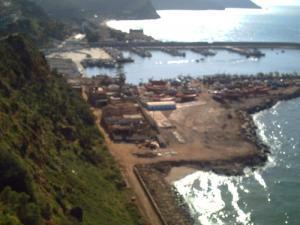 منظر شامل لميناء بني صاف