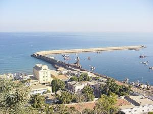 منظر من ميناء بني صاف