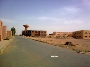 مباني سكنية جديدة بمدينة نعامة