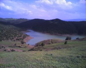 منظر طبيعي بمنطقة عين عيسى بشفاي