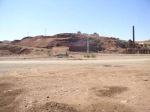 مناجم الحديد بضواحي بلدية روينة