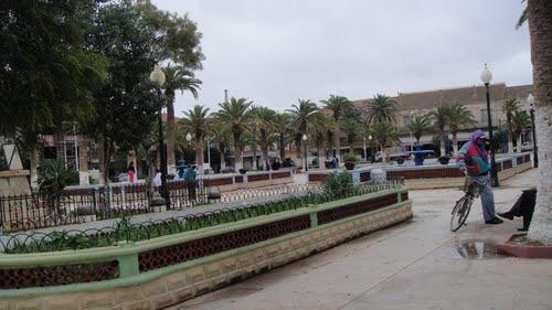 الحديقة العمومية لمدينة