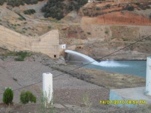صورة من سد ولاية عين الدفلة