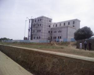 قصر العدالة الجديد في طور الإنجاز (ولاية تيبازة)