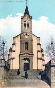 صورة قديمة لكنيسة بلدية القليعة