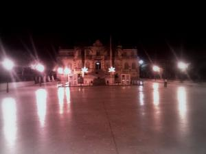 صورة ليلية لمقر بلدية القليعة