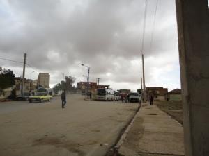 محطة النقل البري لمدينة مداوروش