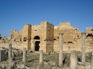 آثار الحضارة الرومانية بضواحي سوق أهراس