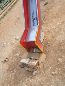 حديقة تسلية خطيرة لأطفال بلدية عين فزة (ولاية تلمسان)