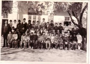 أطفال من المدرسة الإبتدائية لمدينة وهران (الفترة الإستعمارية)