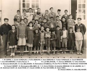 المدرسة الإبتدائية لقرية المطمر في سنة 1948