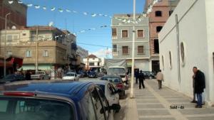 أحد الشوارع المجاورة لقصر الثقافة (مدينة خنشلة)