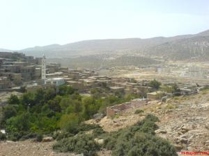 منظر من مدينة مازر بولاية الواد