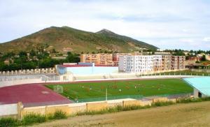 صورة من الملعب البلدي لمدينة ثنية الحد