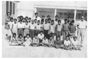 تلاميذ المدرسة الإبتدائية لبلدية