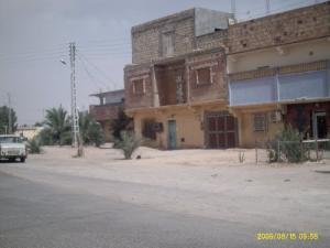 الطريق المؤدي إلى المستشفى الرئيسي لمدينة